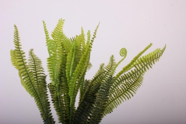 Искусственное растение - Ветка папоротника 40 см (6 шт в уп) 62733