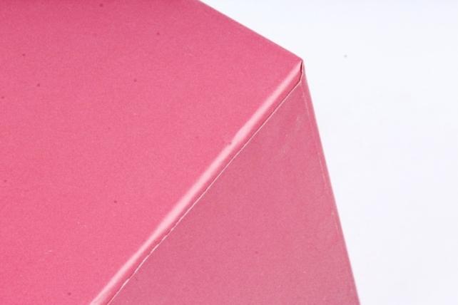 Кашпо Квадрат с ручками красный    S21