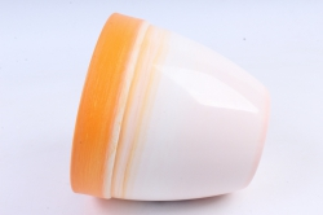 Кашпо (А) (пластик), 3,7л,  оранжевый  5181