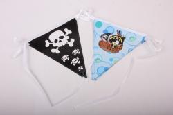 Гирлянда флажки Пираты, 330см  64624