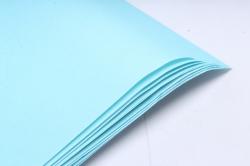 "Бумага 1м*70см Дизайнерская бумага ""Голубая""  78г/м2  10шт/уп  (М)"
