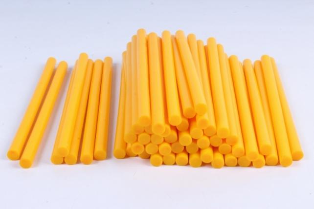 ТермоКлей цветной  (11,2*200 мм) -8195- ЖЁЛТЫЙ 1000 г