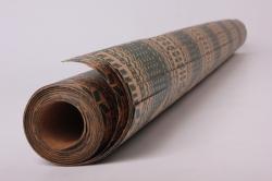 Бумага  КРАФТ 100/Х124  Нов. Год. Ёлка-принт  0,7*1м (10 лист.)