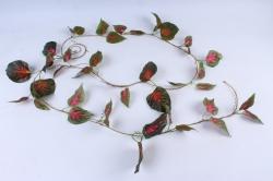 Лиана плюща с красными листьями 3 м