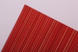 Бумага  рифленая в рулоне Полоски красные с золотом  50см*10м 131002 50/10 184200