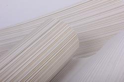 Бумага  рифленая в рулоне Полоски бежевые с золотом  50см*10м 131002 50/10 010542