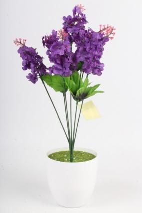 Искусственное растение - Сирень городская фиолетовая Н=44 см Б4848