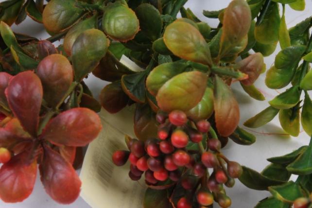 Искусственное растение -  Спирея шанхайская терракотовая Б9895