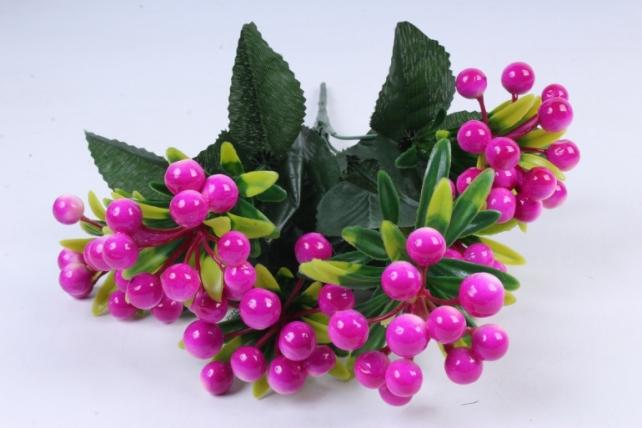 Искусственное растение -  Калина фуксия  Б10280