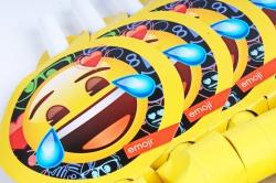 Языки Смайл, Emoji, Черный, 6 шт, 6014910