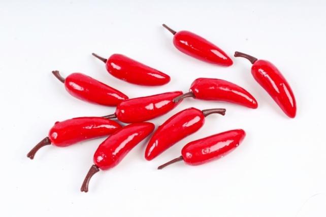 Перец острый красный 7см (10шт)