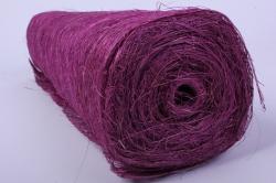 абака натуральная 48см х 9м, пурпурный
