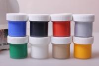 Акриловые краски в наборе для ткани , 8шт. / 22мл. 2018