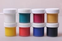 Акриловые краски в наборе по стеклу, 8шт. / 22мл 4203
