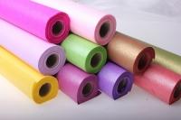 бумага водостойкая аксессуары для флористов - бумага водостойкая для цветов 60х10м - розовый 2342