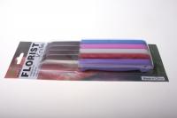 аксессуары аксессуары для флористов - нож цветной флористический (5шт) 2319
