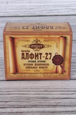 Алфит-27 атеросклерозный  (утренний, вечерний)