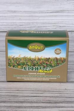 Алфит-актив 23 кровоочистительный