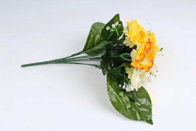 Анемона   желто/белая