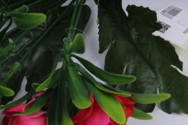 анемоны букет розовые 35см