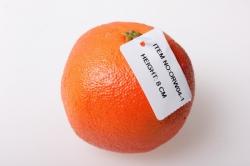 Апельсин большой 8см