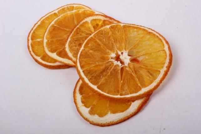 апельсин сушёный (10шт в уп) d=6см
