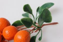 апельсины искусственные на ветке
