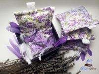 Ароматическое саше ручной работы - большая подушечка
