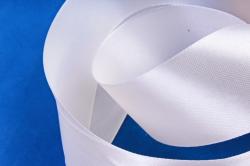 Атласная лента, в катушке (картон) гладкая, односторонняя, 38mm x 25m, Нежно-Розовый М, К