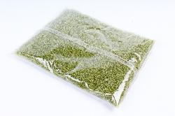 Бисер декоративный  d=1,2мм салатовый (450гр)
