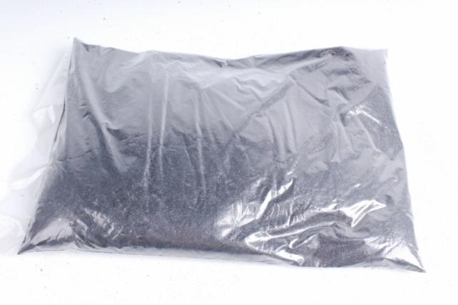Блестки цветные 1 кг металл черный
