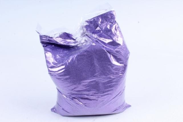 Блестки цветные 1 кг металл фиолетовый