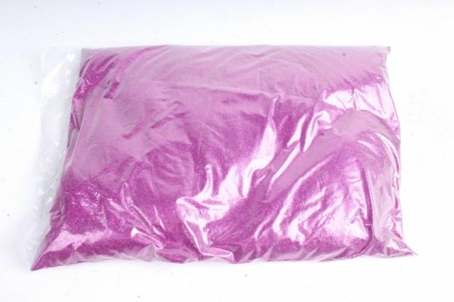 Блестки цветные 1 кг металл малиновый