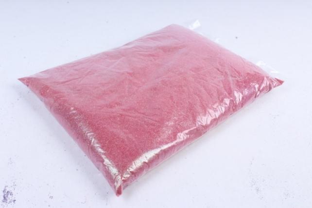 Блестки цветные 1 кг перламутр брусничный