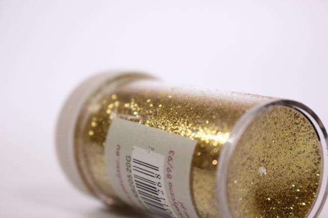 блестки цветные  20гр. в тубе  золото   (pl)  кв205