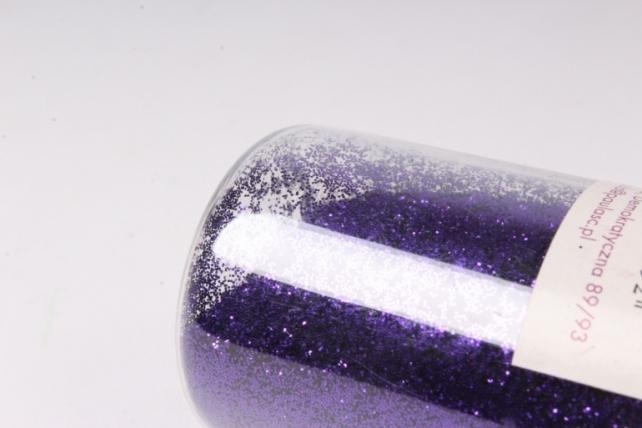 блестки цветные  фиолетовый 80гр. в тубе (pl)  331