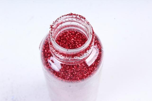 Блестки цветные  50гр. в тубе  Красный (Ч)