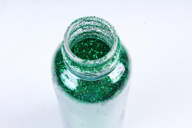 Блестки цветные  50гр. в тубе  Зеленый (Ч)