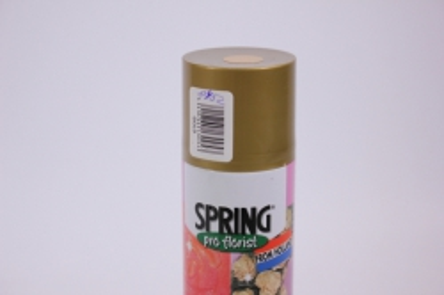 блестки-спрей - золото (300 мл) spring
