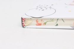 Блокнот с резинкой Для девушки. 25.5х14см.