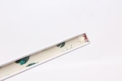 Блокнот с резинкой  Фламинго на белом. 25.5х14см.