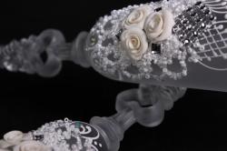 бокалы свадебные  (2шт в уп) 16142