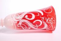 """бокалы свадебные красно/белые """"совет да любовь"""" h=24см (2шт в уп)"""