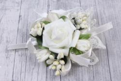 Браслет для подружек невесты- айвори 28142