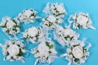 браслет для подружек невесты - белый