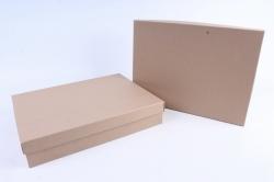 """Брикет коробок из 2 шт """"Прямоугольник КРАФТ""""     Пин20-К"""