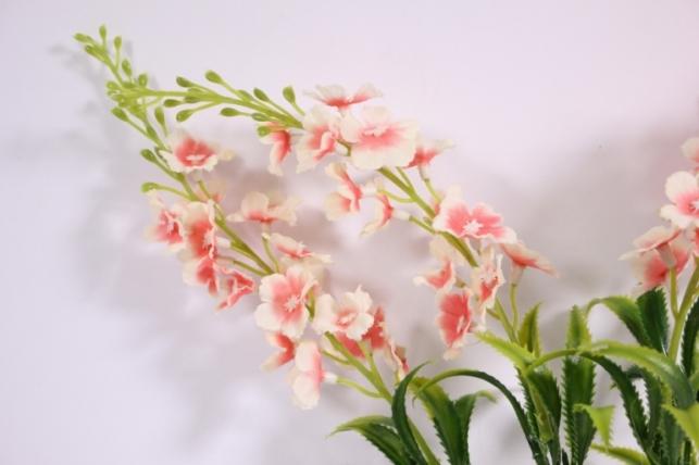 букет цветов люпины 30см - розово/бежевые kwy596 2778