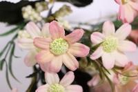 букет цветов ромашка 30см - розовая kwy579 2600