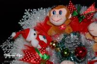 """Букет из игрушек """"С Новым годом"""""""