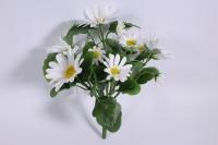Букет ромашек 25 см, белый SUN419